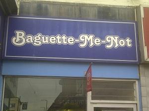 Baguette-Me-Not Sandwich Emporium, Littlehampton