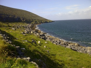 View on the way to Doolin from Galway