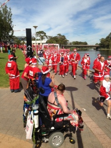 Santa in Adelaide