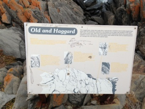 Old and Haggard rocks
