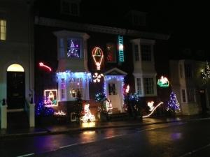 crap lights at Christmas