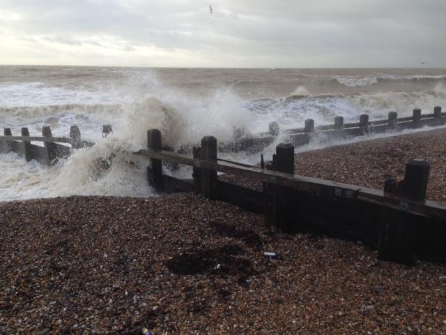 flood defence damage