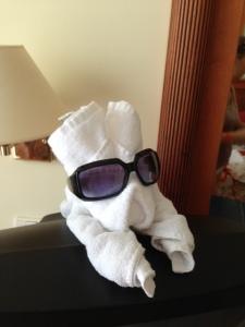 towel antics