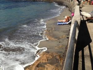Canarian beach