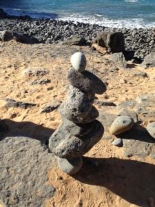 balancing stones on tenerife