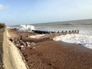 Clymping beach picture