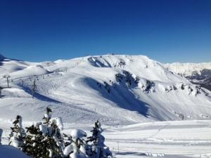meribel, the Alps