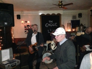 music fan at the Eagle
