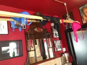 hanging bras