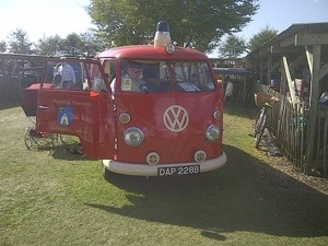 Goodwood revival camper