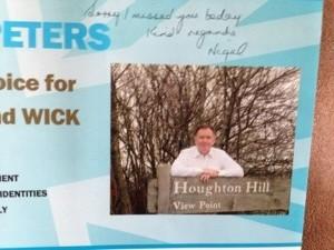 Tory brochure