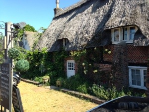 400 year old thatched house