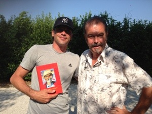 famous writer meets famous actor