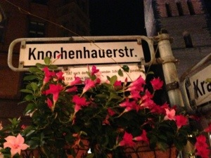 a dodgy street in hanover