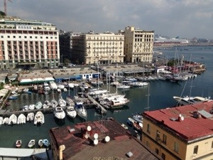 naples harbour picture