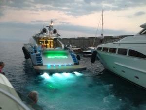 LED boat