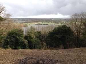 floods around arun valley