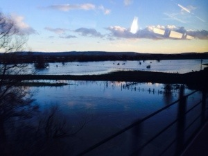 flooded Sussex