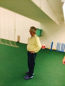 old cricketer