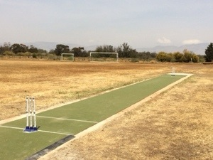 cricket pitch in Cyprus